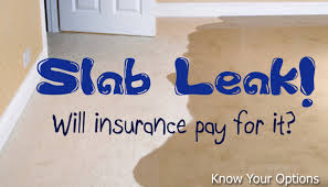 slab leak insurance claim south florida